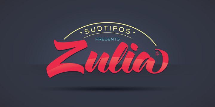 Zulia font