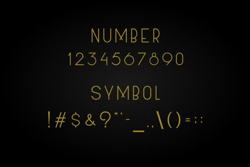 Allorta Sans Serif Font-3