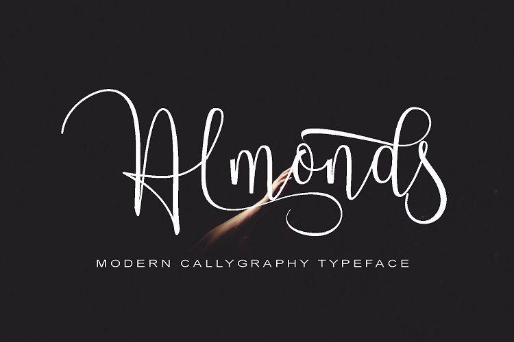 Almonds Script Font