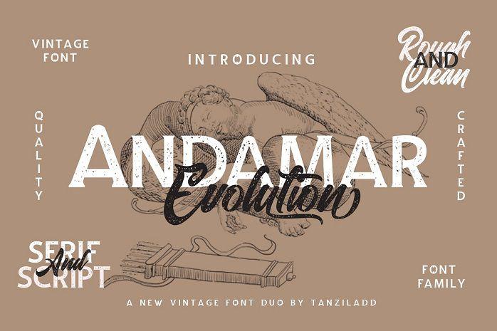Andamar Font Family