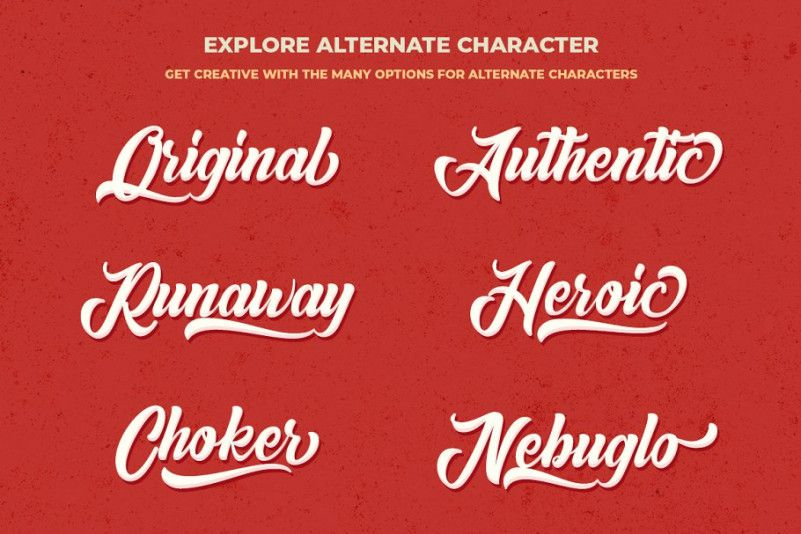 Anordighos Script Font-2