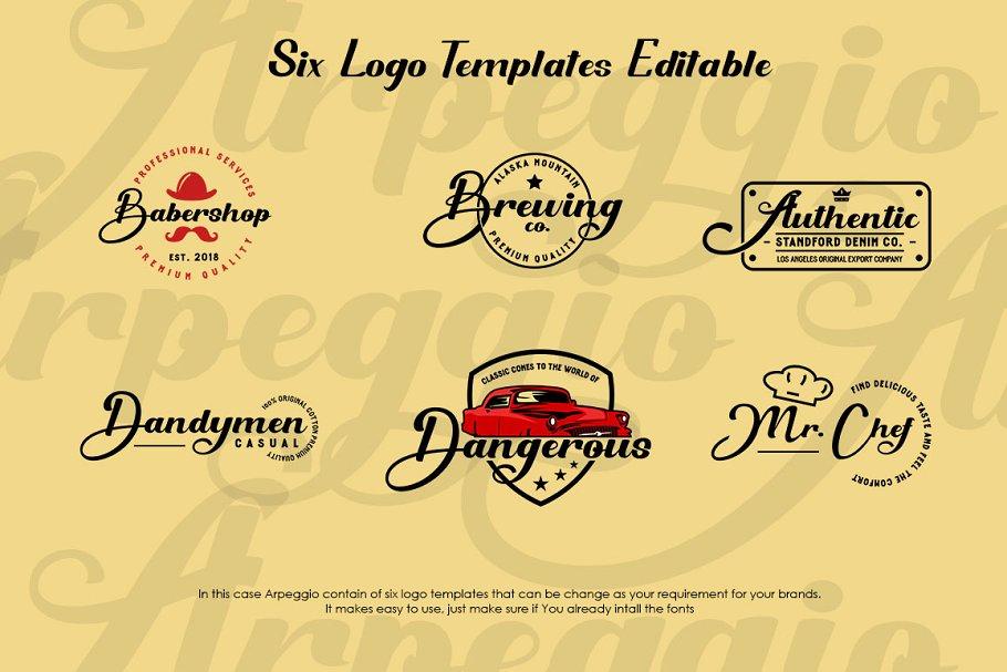 Arpeggio Font Duo-3