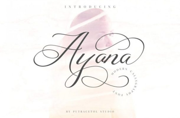Ayana Calligraphy Font