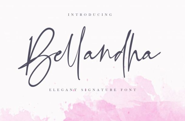 Bellandha Signature Script Font