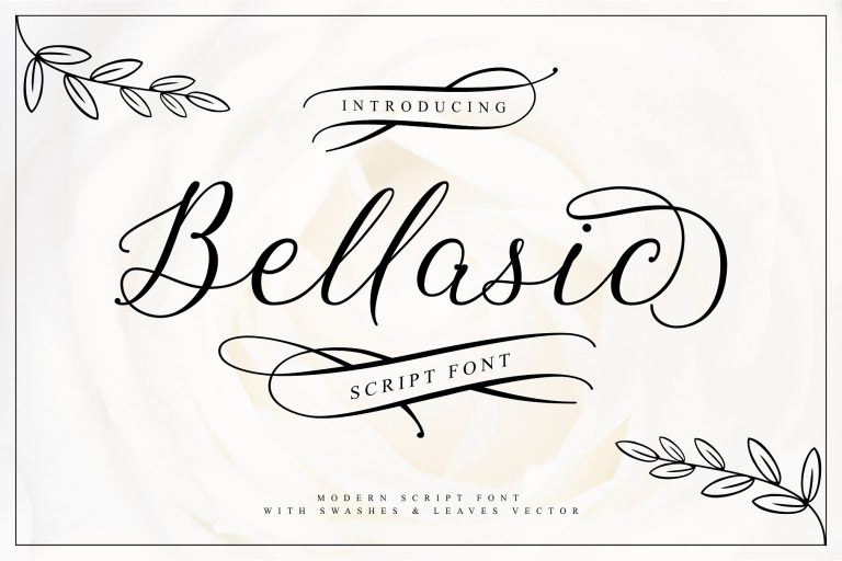 Bellasic Script Font