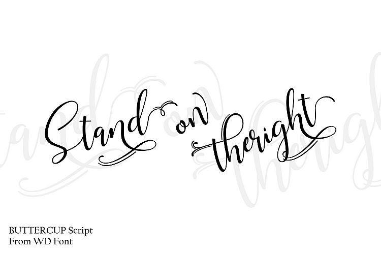 Buttercup Handwritten Font-2