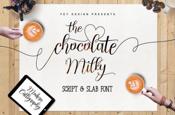 Chocolate Milky Script Font