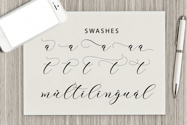 Clover Calligraphy Font-3