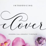 Clover Calligraphy Font