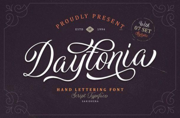 Daytonia Script Font