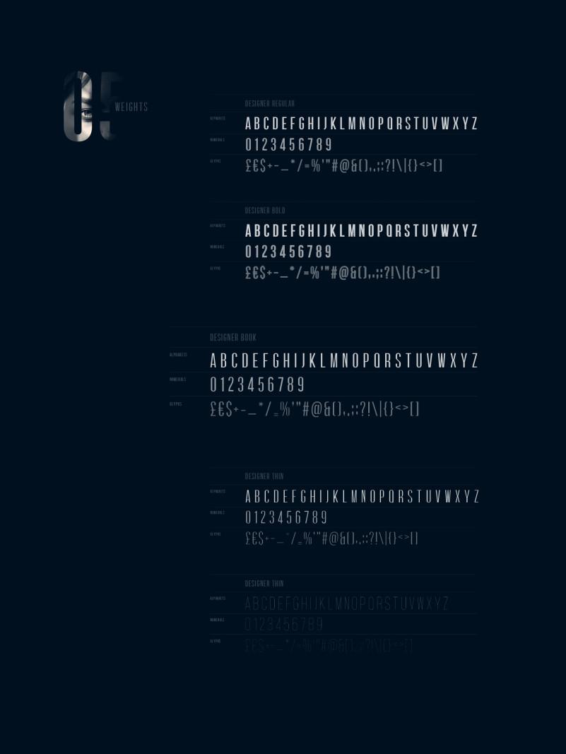 Designer Font Family-3