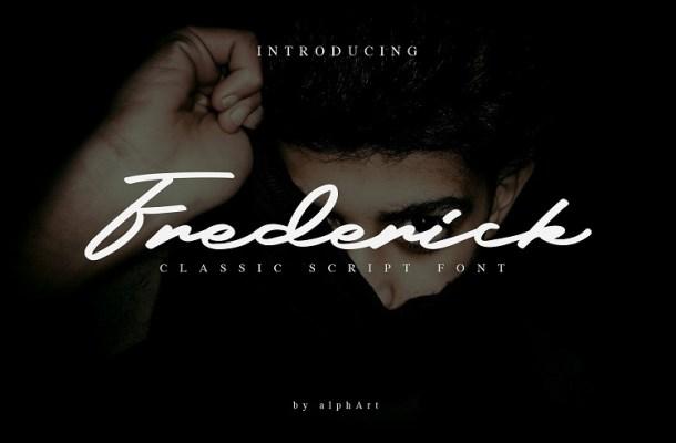 Frederick Script Font