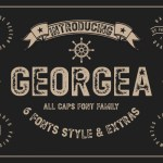 GEORGEA Typeface