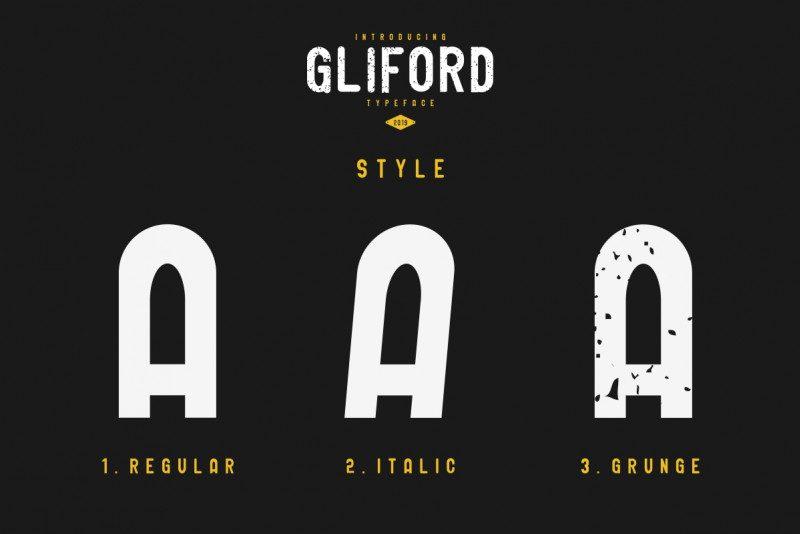 GLIFORD Typeface-3