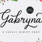 Gabryna Script Font