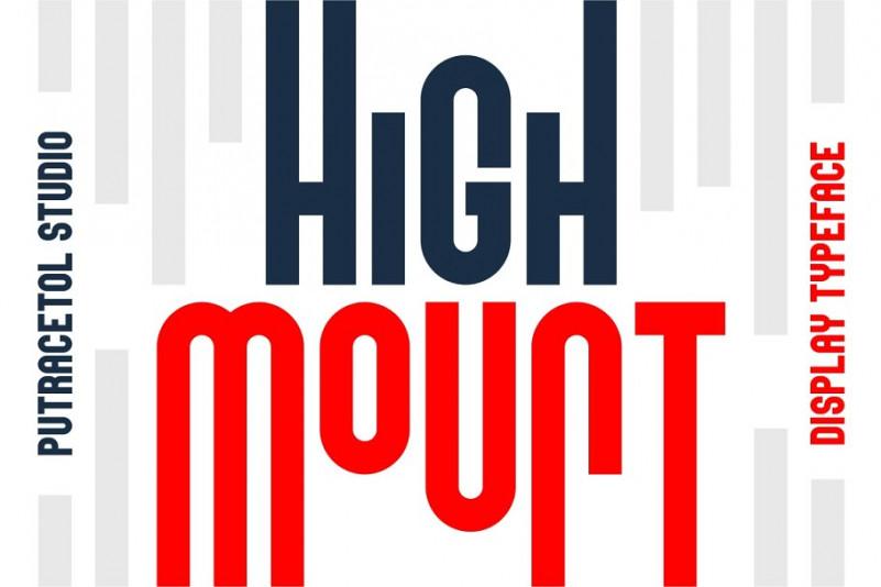 High Mount Typeface