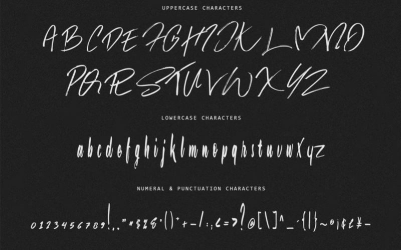 Jason Statan Handbrush Font-3