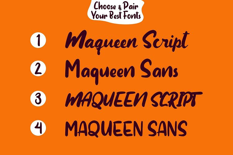 Maqueen Display Font-3