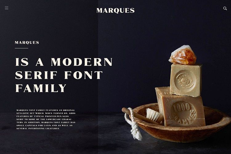 Marques Font Family-2