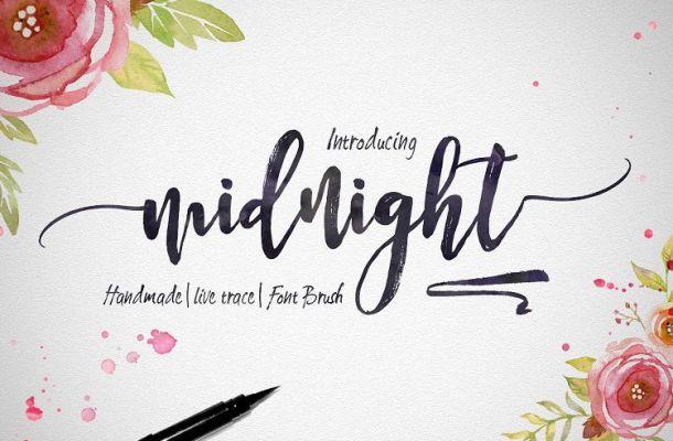 Midnight Script Font