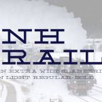 NH Rail Slab Typeface
