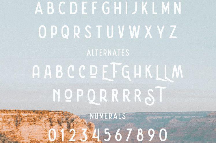 Nature Spirit Vintage Font-2