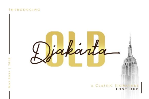 Old Djakarta Font Duo