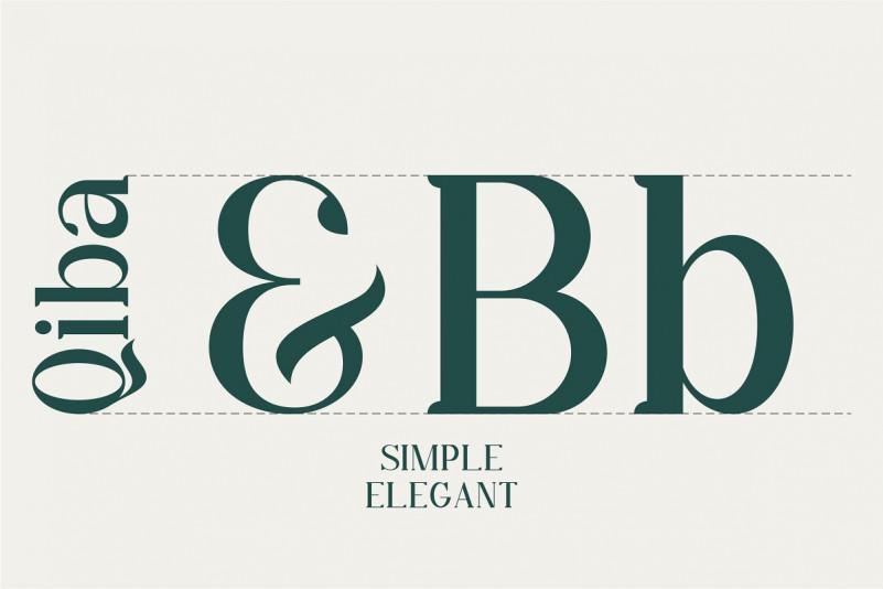 Qiba Serif Font-3