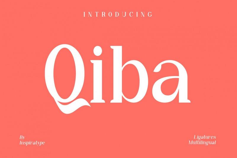 Qiba Serif Font