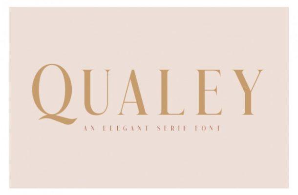 Qualey Elegant Serif Font