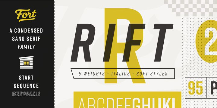 Rift Font Family - Dafont Free