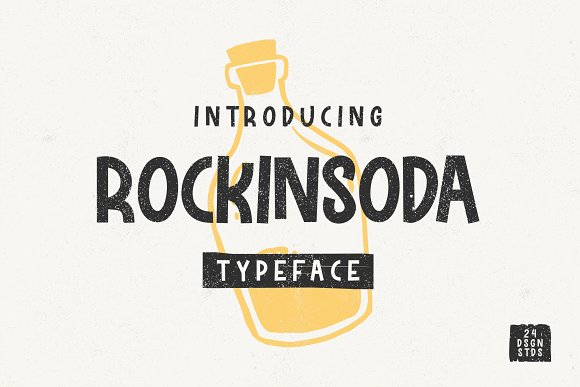 Rockinsoda Typeface