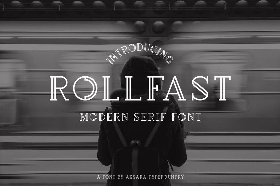Rollfast Typeface