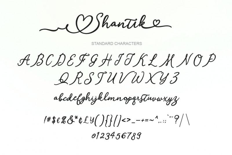 Shantik Script Font-3