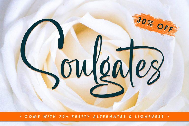 Soulgates Script Font