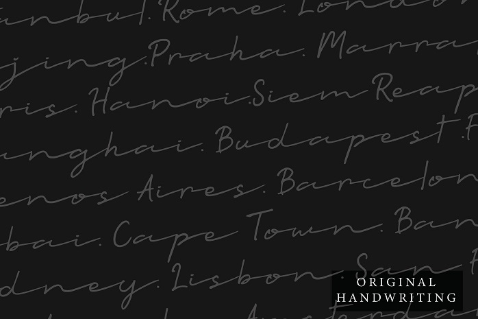 Talesian Signature Font-3