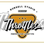 Throttles Logotype