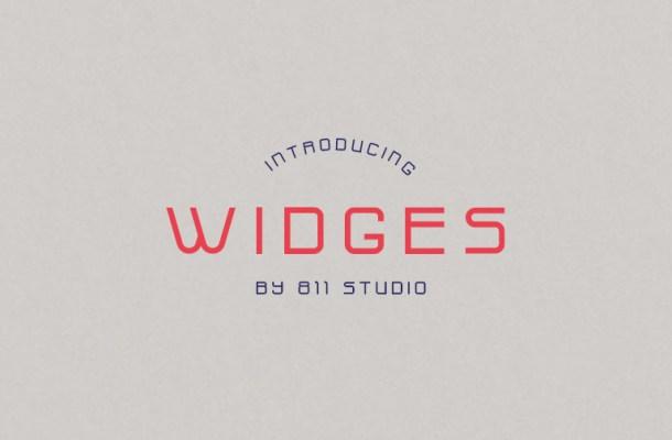 Widges Modern Font