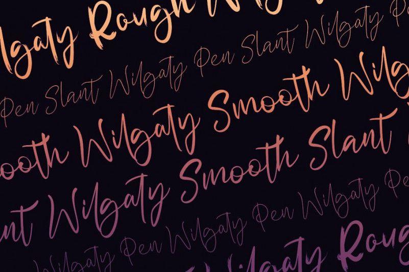 Wilgaty Brush Font-3