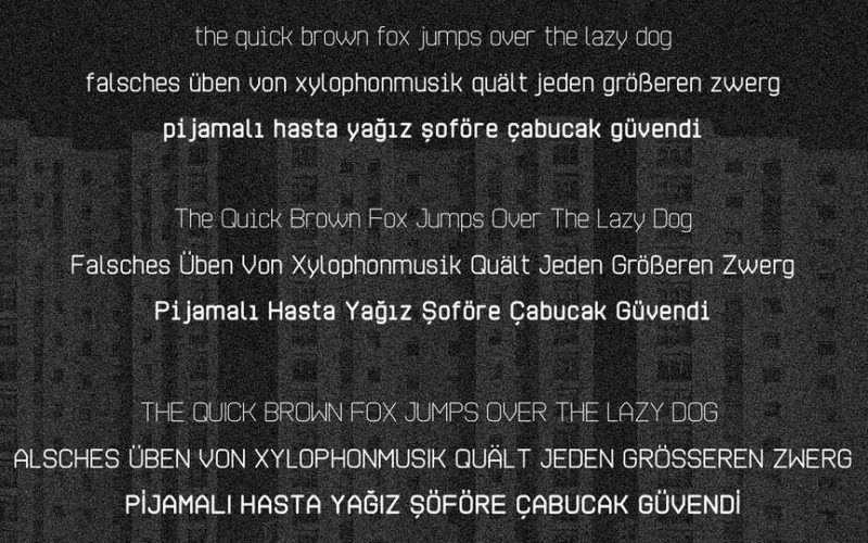 Auch Free Font-3
