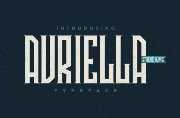 Avriella Typeface