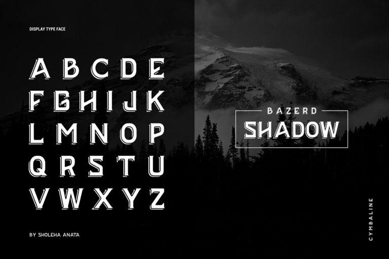 BAZERD Typeface-2