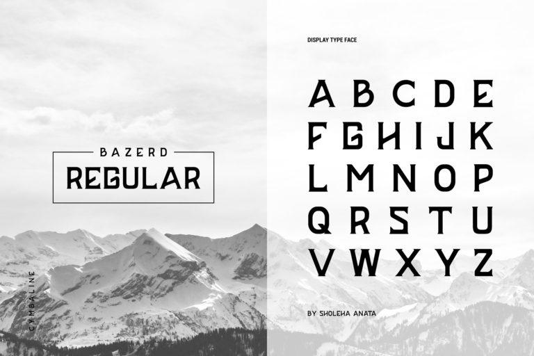 BAZERD Typeface-3