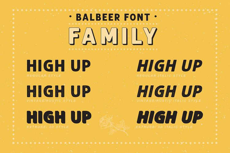 Balbeer Font Family-2