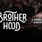 Brotherhood Display Font