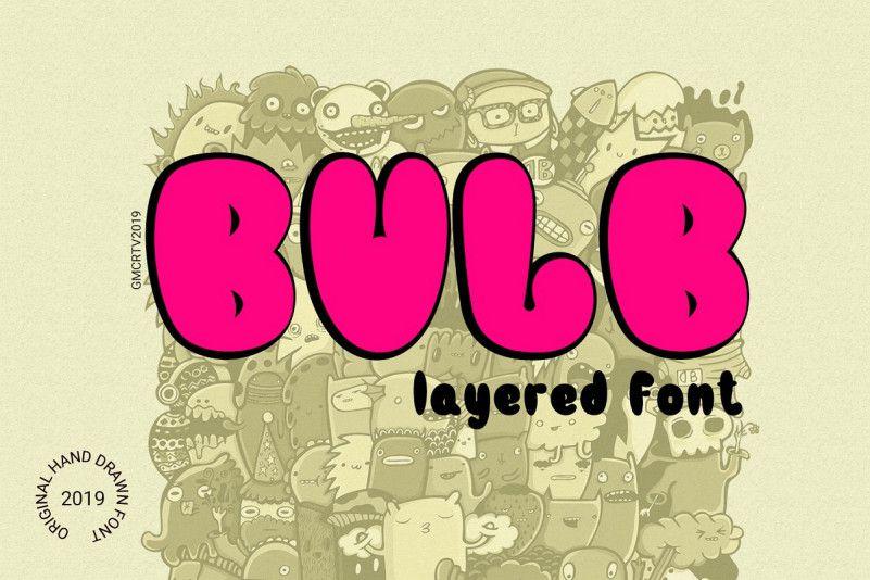 Bulb Typeface