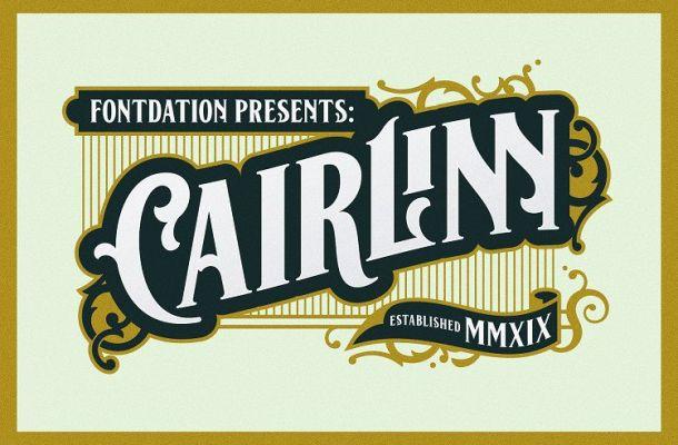 Cairlinn Vintage Font