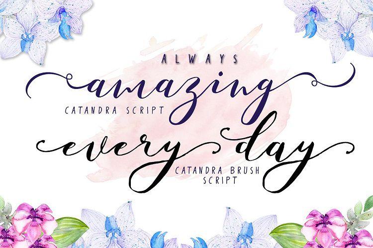 Catandra Brush Script Font-2