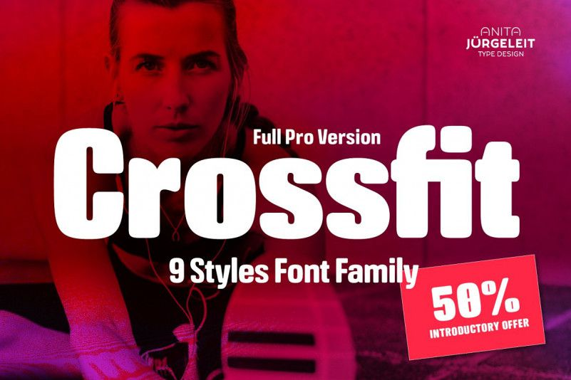 Crossfit Font Family