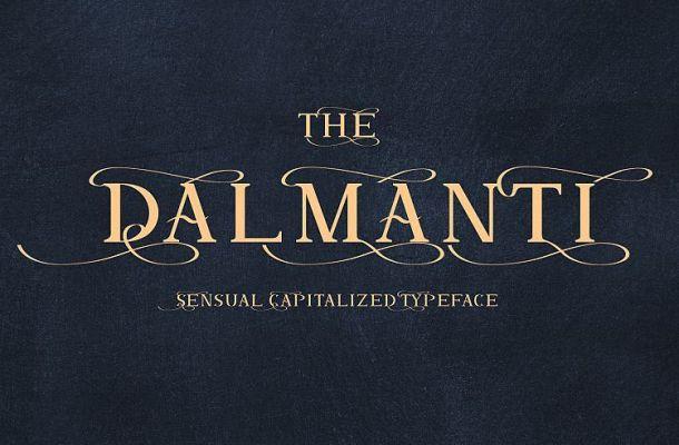 Dalmanti Typeface